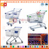 Supermarket Zinc or Chrome Shopping Trolley (Zht58)