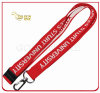 Promotion Gift Personalized Woven Logo Satin Ribbon for Lanyard