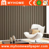 Waterproof PVC Stripe Embossed Wall Paper