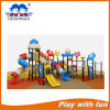 Kids Plastic Outdoor Playground with Factory Price