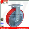 8 Inch PU on Iron Fixed Caster
