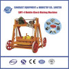 Mobile Concrete Hollow Brick Making Machine (QMY-4)