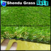 25mm Landscape Artificial Grass with All Green Color