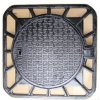 Ductile Iron Resin Casting Manhole Cover with Coating