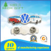 Customized Enamel Laser Print Light Badges with Animal/ Car/ Text Logo Design