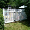 Square Picket Fence Gate