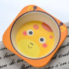 Promotional Gifts Cartoon Design Dinnerware Bamboo Fiber Kids Dinnerware Set