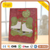 Paper Bag, Christmas Shoes Paper Bag, Gift Paper Bag
