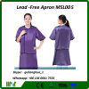 Ce Approved Lead Free Protective Apron Radiation Protected Suit / X Ray Lead Apron Msl005