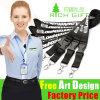 Promotion Gift Custom Polyester Ribbon Lanyard with Metal Hook