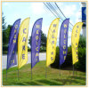 Cheap Custom Made Advertising Beach Flags Feather Flags (3.5m)