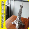 Custom Made High Grade Stainless Steel Eiffel Tower Sculpture
