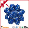 Garment Polyester Printed Ribbon Flower Star Bow