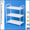 3 Layers White Metal Organizer Shelf