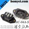 AC Socket AC Power Jack (AC-04A-S)