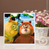 Factory Direct Wholesale New Children DIY Handcraft Sticker Promotion Kids Girl Boy Gift T-167