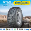 Outlined White Letter Light Truck Tyre with High Quality