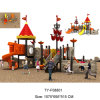 LLDPE Fashion Design Kids Plastic Outdoor Playground Equipment (TY-F08801)