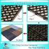 Waterproof WPC DIY Floor Tiles WPC Interlocking Plastic Base Deck