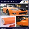 3D Carbon Fiber Vinyl Sticker Car Wrap/ Car Sticker Orange Air Free Bubbles