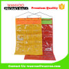 Stylish 600d Nylon & T/C Foldable Storage Hanging Organizer with PVC Window