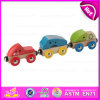 2015 Hot Sale Pull Truck Wood Toy for Baby, Mini Wooden Pull Truck Toy, Pretend Play Pull Truck Toy for Children W05c028