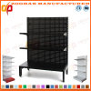 3 Level Customized Supermarket Hole Back Wall Display Shelving Unit (Zhs566)