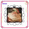 Metal Frame Ceramic Souvenir Printing Plate for Christmas Gift