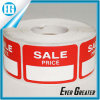 Self Adhesive Red Sale Roll Label Used for Shopping