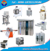 Complete Set Bread Making Machine Rotary Oven (mixer, moulder, proofer, baking oven)