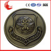 Custom Us Government Officer Antique Brass Plated Metal Badge