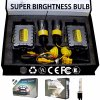 Lightech HID Xenon Conversion Canbus Kit with Headlight Ultra-Slim Ballast Single Beam Xenon Lamp (H1 H3 H4-1 H7 H4)