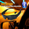 Polarized Sunglasses MP3 Sport Bluetooth Headphone Headset Pair with Two Phones