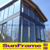 Aluminium Glazing Curtain Wall Expose Frame