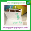 White Kraft Paper Bag with Customized Printing Logo