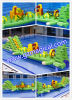 Inflatable Water Obstacle Inflatable Water Bouncer Inflatable Floating Water Game (RA-1031)