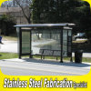 Keenhai Customized Outdoor Stainless Steel Bus Stop in Good Price