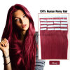 Royal Quality # Burgendy Red Wine Tape Hair