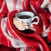 Lightweight Couch Blanket Wool Throw Blanket