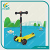 Child Three Wheel Kick Scooter Big PU Wheel New Style Scooter