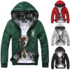 Custom Cotton Printed Hoodies Sweatshirt of Fleece Terry (F133)