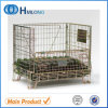 China Industrial Folding Wire Container with Castors