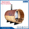 Hot Sale Barrel Outdoor Sauna Garden Outdoor Sauna House