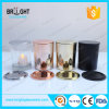 Scented Glass Candle Jar for Soy Wax with Plastic Lids Wholesale