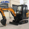 CE Approvedconstruction Machinery 2.2ton China Mini Crawl Excavator with Multi-Attachments