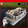 27FT Entertainer Aluminum Pontoon Party Boat with Nice Interior