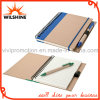 High Quality Hardcover Spiral Notebooks with Elastic Ribbon for Promotional Gift (SNB117)