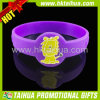 Silicone Watch Shape Wristband with Print Logo (TH-band054)