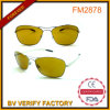Yellow Lens Cockpit Metal Sunglasses China OEM Supplier