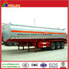 ISO Tri-Axles 45cbm Stainless Steel Chemical Fuel Tank Trailer for Sale
